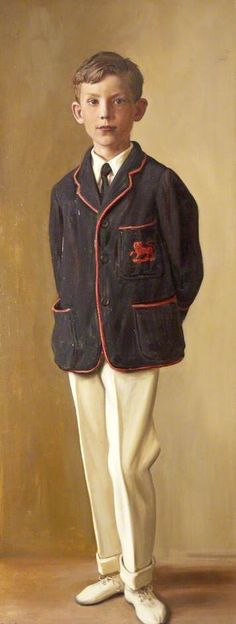 Master Wilson by Ralph Peacock In collection of Burton Art Gallery and Museum (Bideford, Devon), donated by Marjorie Richards