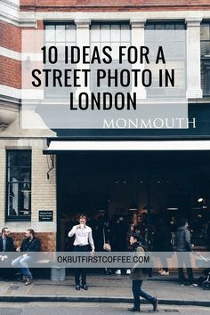 10 Ideas for a street photo in London. If you are not in London, you can get some ideas for a city you live in. Click to read the full article