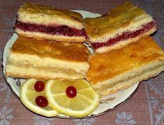 лимонный и клюквенный пироги