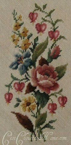 This Pin was discovered by Cec Just Cross Stitch, Cross Stitch Heart, Cross Stitch Borders, Cross Stitch Flowers, Cross Stitch Designs, Cross Stitching, Cross Stitch Embroidery, Cross Stitch Patterns, Hand Embroidery Designs
