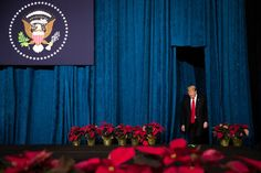 a person standing in front of a curtain: President Trump promised during his presidential campaign to withdraw American troops from Syria, and has been looking for a way out since. World News Today, Latest World News, News Latest, Trump Lies, Us Election, Latest Breaking News, Popular News, All News, Constitution