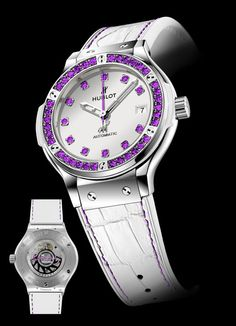 TimeZone : Ladies Watch Forum » N E W M o d e l s - Hublot Classic Fusion Womanity for Men and Women