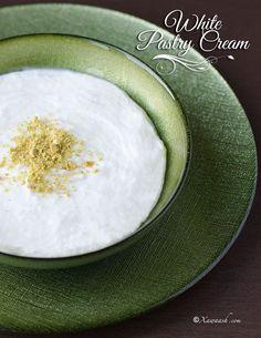 White Pastry Cream (Qishta Karsan) Crème Pâtissière Blanche القشطة المطبوخة | Xawaash.com