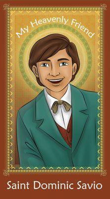 Catholic saints visionaries mystics on pinterest for Saint dominic savio coloring page