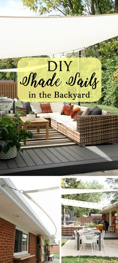 Easy DIY Canvas Shade Sails Easy DIY Canvas Shade Sails Related posts: 25 creative and easy DIY canvas wall art ideas 13 Fireplaces & DIY Outdoor Shade Structures 35 Easy DIY Rug Ideas You Can Make Right Now DIY Outdoor Privacy Screen and Shade – Tutorial Diy Pergola, Diy Awning, Patio Diy, Retractable Pergola, Pergola Design, Pergola Ideas, Pergola Canopy, Cheap Pergola, Pergola Roof