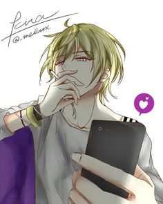 Dear Vocalist Momochi Cute Anime Boy, Hot Anime Guys, I Love Anime, Anime Boys, Manga Boy, Manga Anime, Anime Art, Kaito, Yandere