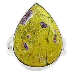 Rare Atlantisite 925 Sterling Silver Ring Jewelry s.7 SR191578 | eBay