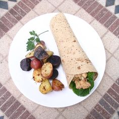 Vegan Lobster Salad Sandwich Wrap  vegan, plantbased, earth balance, made just right