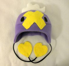 Pokemon Drifloon Fleece Hat by PakajunaTufty on Etsy, $25.00