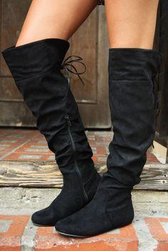 Treat Me Right Boots: Black #shophopes