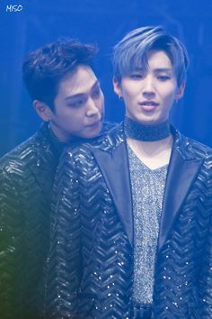 《 B.A.P • Himchan and Jongup 》I've never seen a kpop pairing more real than Himup lol