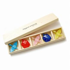 arenot|NIPPON souvenir(ニッポンスーベニア)HASHIOKI gift box(箸置き 木箱 ギフトボックス )