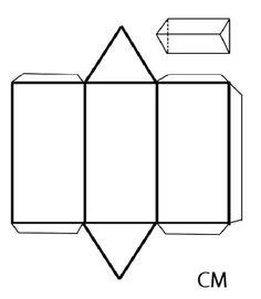 malvorlagen hexaeder sechsseitige polyeder ausmalbilder farina pinterest. Black Bedroom Furniture Sets. Home Design Ideas