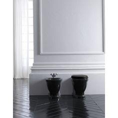 Albion Bath Company - Volda Back To Wall Toilet & Bidet : Klassieke Engels stijl toilet en bidet.