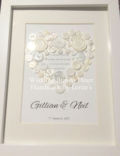 Personalised Handmade Wedding Gift  Beautiful by Madebylotties
