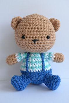 Es un Mundo Amigurumi: Oso Amigurumi... Bear
