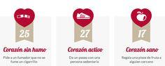 via @ Guiadelasalud Cadena de corazones en pro de la salud cardiovascular