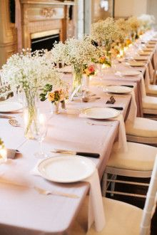 Connecticut Wedding at Eolia Mansion from Katie Stoops Photography Brunch Wedding, Chic Wedding, Wedding Table, Floral Wedding, Wedding Flowers, Wedding Stuff, Wedding Receptions, Wedding Bells, Reception Decorations