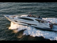 """""""Lazzara LSX 92 Walk Through"""" by BoatShowAvenue.com. Subscribe to see LIVE Boats in action to our YouTube channel at https://www.youtube.com/user/boatshowavenue/videos"""