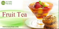 Fruit Tea, Pudding, Breakfast, Unique, Easy, Desserts, How To Make, Collection, Food
