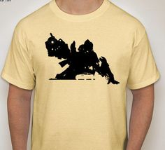 Transformers: Bumblebee Silhouette T-Shirt by DJsDecals on Etsy