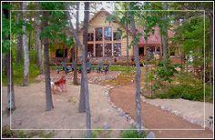 Red Pine Lodge on Pickerel Lake - St. Germain Wisconsin