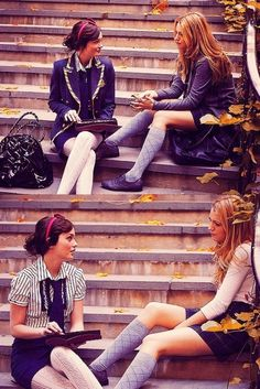 prep school (Gossip Girl) I wish our uniforms were like this