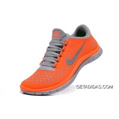 Womens Nike Free 3.0 V4 Orange TopDeals