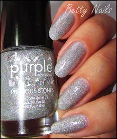 Betty Nails: Purple Professional Crystal - http://yournailart.com/betty-nails-purple-professional-crystal/ - #nails #nail_art #nails_design #nail_ ideas #nail_polish #ideas #beauty #cute #love