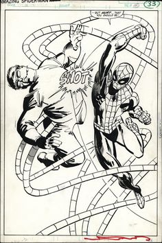 Amazing Spider-Man Annual 15 pg 33 by Frank Miller