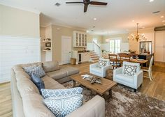 125 Gulfview Circle is a brand new home situated in one of Blue Mountain Beach's newest communities, Highland Park. This two story abode features three bedrooms, three bathrooms and superb accommodations for up to eight guests.