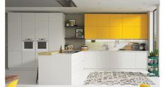 Mobiliario de Cocina Modelo Galia. #cocinas #cocinasMadrid #cocinasdediseño #diseñodecocinas #cocinasmodernas