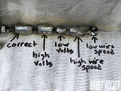 troubleshoot your welds // MIG arc welding guide