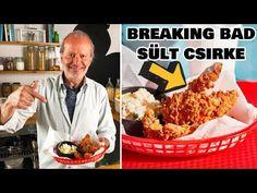 A BREAKING BAD sorozat SÜLT CSIRKÉJE 🍗 Breaking Bad, Food And Drink, Meat, Chicken, Youtube, Youtubers, Buffalo Chicken, Cubs
