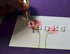 JJ Bolton {Handmade Cards}: Flowery Thanks: CAS-ual Fridays #CFC50