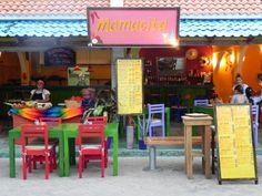 fondas de comida mexicana - Buscar con Google Container Restaurant, Signage, Home Decor, Memes, Google, Ideas, Rustic Restaurant, Mexican Meals, Mexican