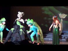 "DAC - The Little Mermaid ""Poor Unfortunate Souls"" Ariel has on Heelies"