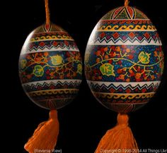 Ukrainian Easter Egg Pysanky PYS14062  by Iryna Vakh  from the Lviv  on AllThingsUkrainian.com