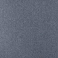 Baumwoll Chambrey Gewaschen Hellblau