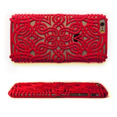 Download on https://cults3d.com #3Dprinting 3D Lotus Case for Iphone 6 Plus, Genghis