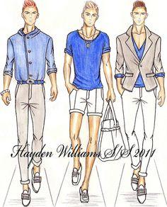 New fashion design men sketches hayden williams ideas Fashion Art, New Fashion, Trendy Fashion, Fashion Outfits, Classy Fashion, Fashion Shoes, Fashion Clothes, Hayden Williams, Fashion Design Drawings