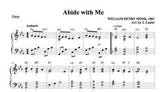 $1.50 Harp Music: Abide with Me