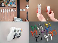 Wall Clips Hang Your Video Game Controllers On Your Wall