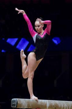 Eythora Thorsdottir (Netherlands) - 2015 World Championships: Balance Beam Final