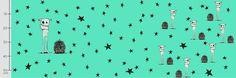 Stoff Sterne - JERSEY KNIT Rudes Mint Rapport - ein Designerstück von MyUniqueKid bei DaWanda