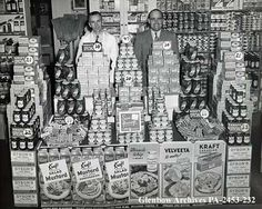 Kraft displays, Jenkins' Groceteria, Calgary, Alberta, c. used to love it when mom took us there Supermarket Sweep, Store Displays, Vintage Magazines, The Good Old Days, Department Store, Vintage Photographs, Historical Photos, Calgary, Vintage Advertisements