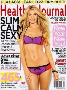 Marisa Miller Shows Off Her Fabulous Abs on Women's Health Marisa Miller, Sienna Miller, Lean Legs, Womens Health Magazine, Anti Ride, Gewichtsverlust Motivation, Exercise Motivation, Lose 30 Pounds, 3 Pounds