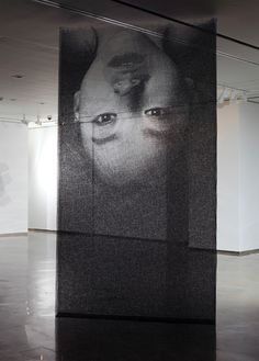 Ephemeral Portraits Cut from Layers of Wire Mesh _ by Seung Mo Park _