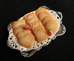 Dollhouse Miniature Cookies
