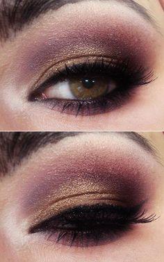 Make com Paleta de Sombras de festas da Pausa para Feminices by @tracta_makeup